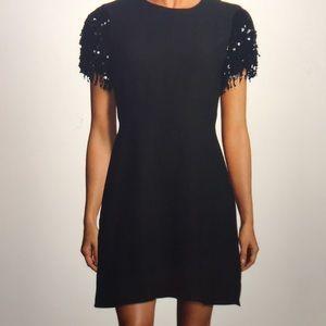 Kate Spade Sequin Fringe Swing Dress